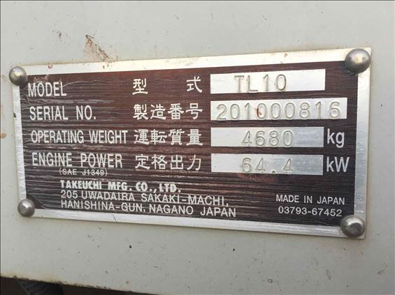 2014 Takeuchi TL10R