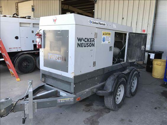 2011 Wacker Neuson G 70 Diesel Generator
