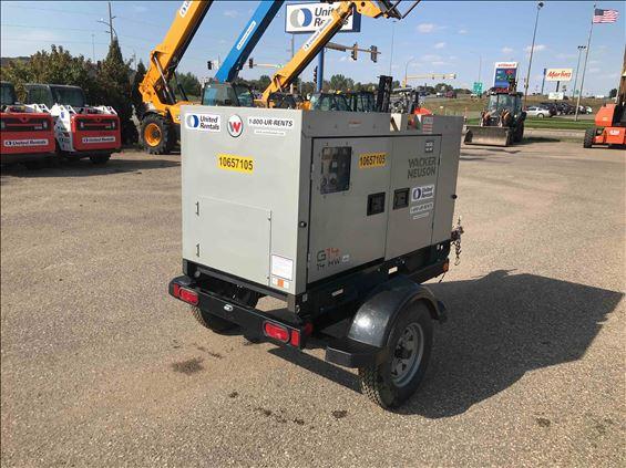2017 Wacker Neuson G-14 Portable Generator