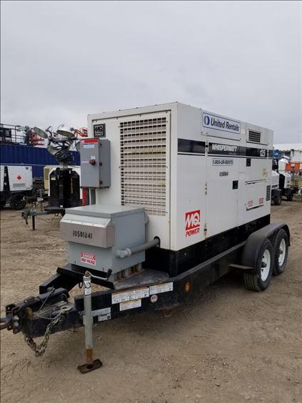2016 Multiquip DCA125USI3CAN Diesel Generator