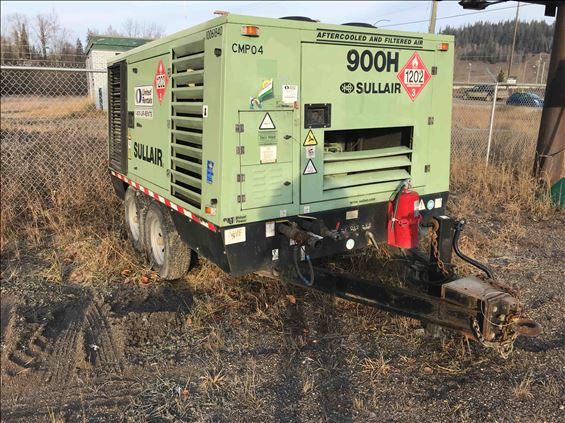 2012 Sullair 900HAFDTQCA Air Compressor