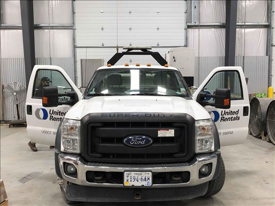 2014 Ford F550REGXLD4WD