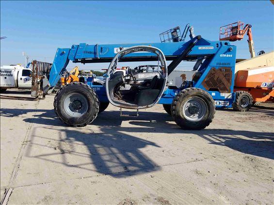 2012 Genie GTH-844 S Rough Terrain Forklift
