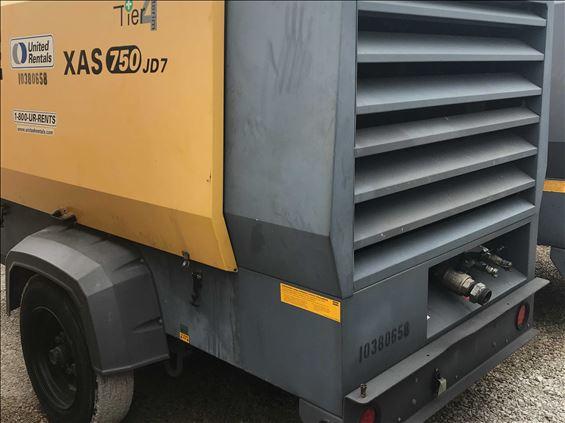 2015 Atlas Copco XAS750JD7 IT4 Air Compressor