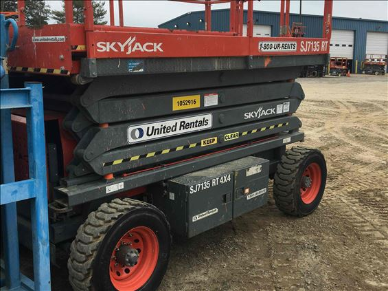 2008 Skyjack SJ7135RT Scissor Lift