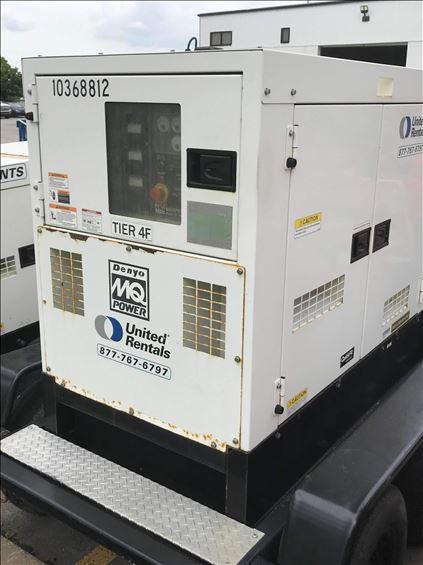 2015 Multiquip DCA45SSIU4F Diesel Generator