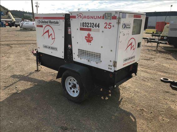 2014 Magnum Pro MMG25CAN6 Diesel Generator