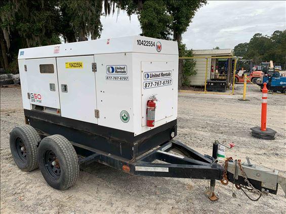 2015 Wacker Neuson G 50 Diesel Generator