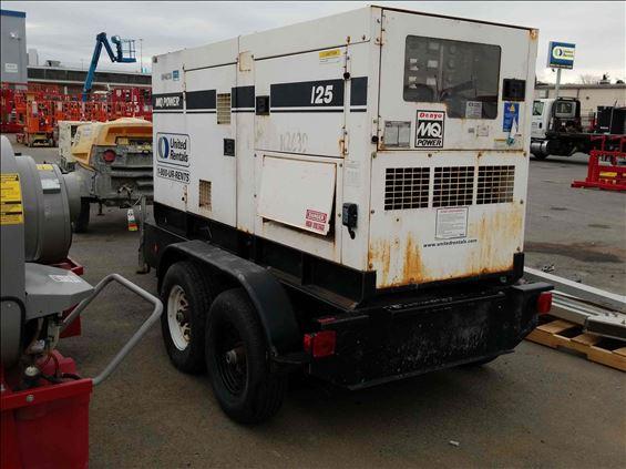 2012 Multiquip DCA125SSIUC Diesel Generator