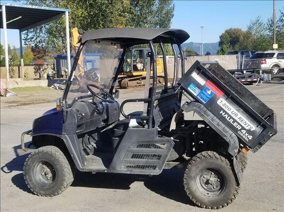 2016 E-Z-GO 1600XD Utility Vehicle