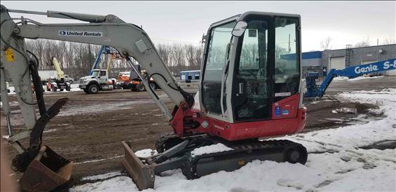 2015 Takeuchi TB240C Mini-Excavator