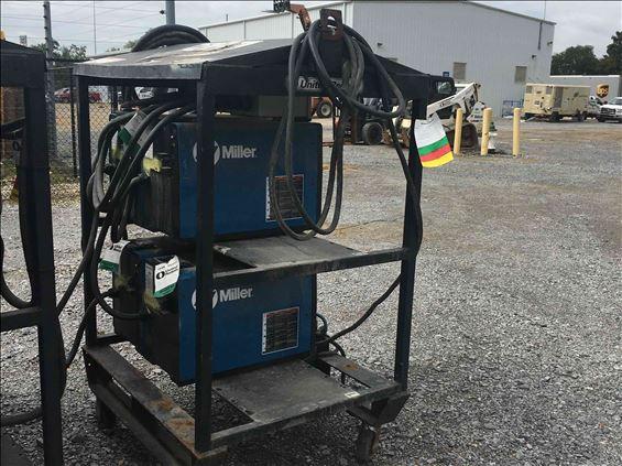 2008 Miller Welders XMT 350 RACK Welder