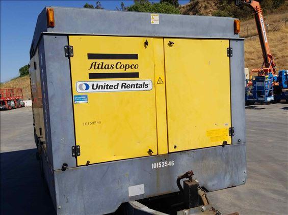 2013 Atlas Copco XAS 1800 JD7 Air Compressor