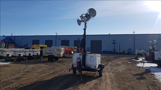 2015 Magnum Pro MLT5080KVCAN Towable Light Tower
