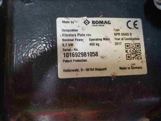 2017 BOMAG BPR60/65DE Plate Compactor