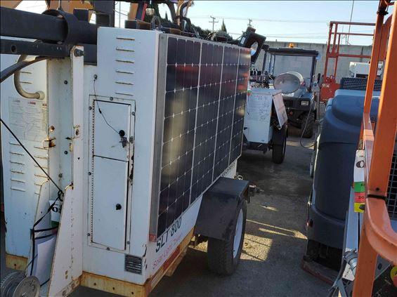 2011 Progress Solar Solutions SLT800 Towable Light Tower