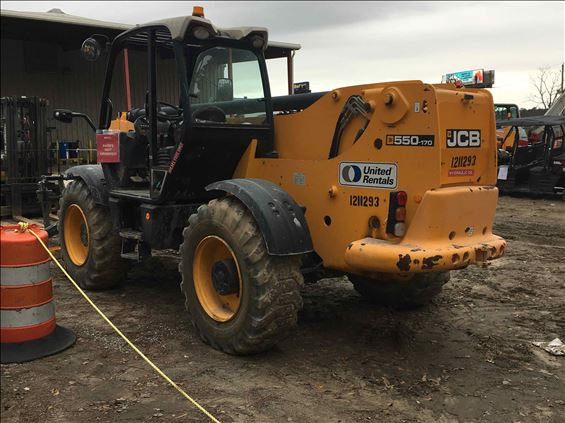 2011 JCB 550-170 Rough Terrain Forklift