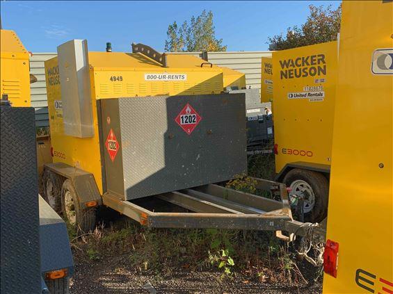 2015 Wacker Neuson E3000. Ground Heater
