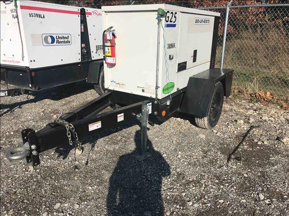 2016 Doosan G25 Diesel Generator