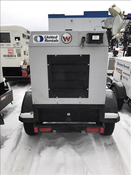 2018 Wacker Neuson G25 T4I Diesel Generator