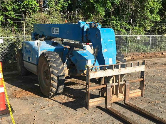 2014 Genie GTH844D(T4I) Rough Terrain Forklift