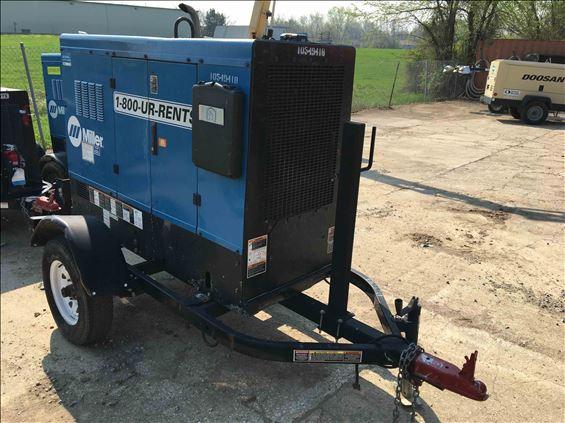 2016 Miller BIG BLUE 500PRO Welder