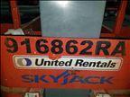 2012 Skyjack SJ12 Scissor Lift
