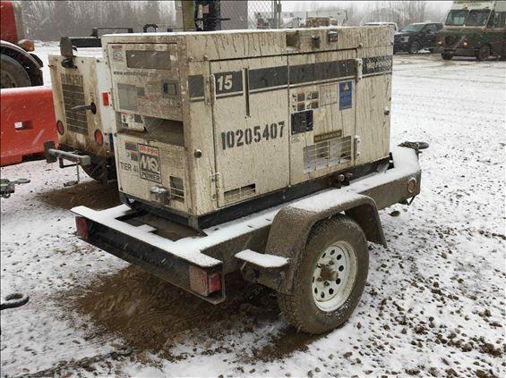 2013 Multiquip DCA15SPXU4C Diesel Generator