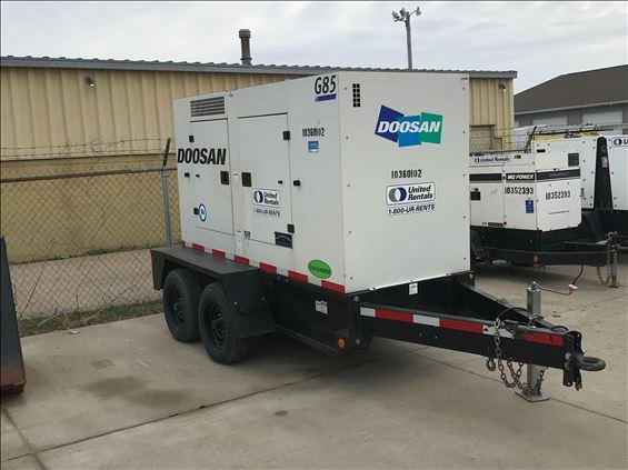 2015 Doosan G85 Diesel Generator
