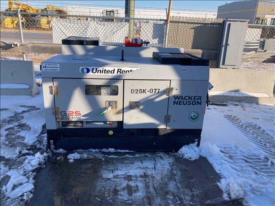 2017 Wacker Neuson WACKERNEUSON Diesel Generator