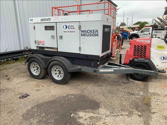 2016 Wacker G50 T4F Diesel Generator