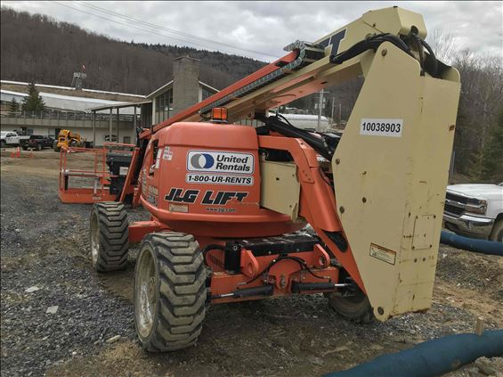 2012 JLG 600AJ Boom Lift