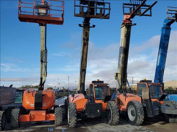 2014 JLG G9-43A Rough Terrain Forklift