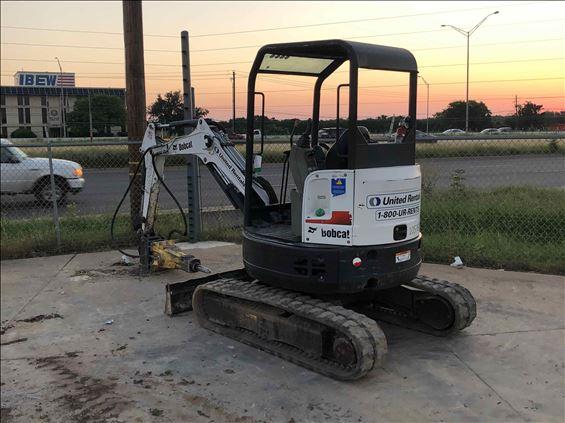 2017 Bobcat E26 Mini-Excavator