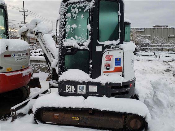 2015 Bobcat E35 Mini-Excavator