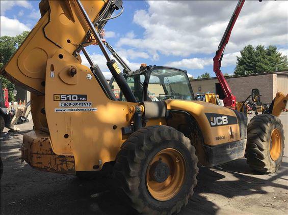 2012 JCB 510-56 S Rough Terrain Forklift