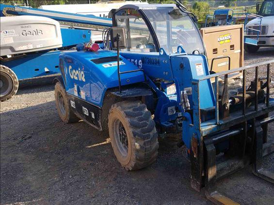 2018 Genie GTH-5519 Rough Terrain Forklift