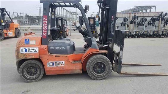 2013 Toyota 7FDU35 Warehouse Forklift