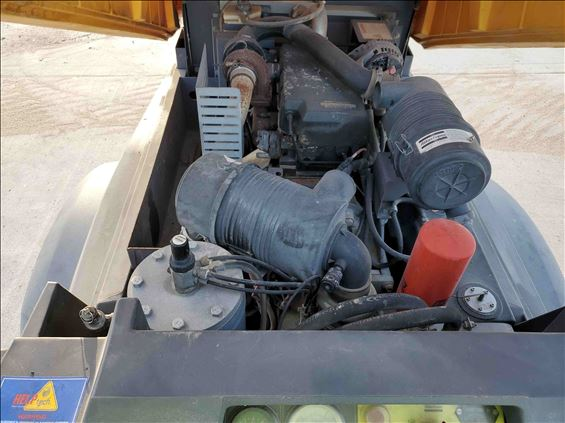2013 Atlas Copco XAS185JDPETBV Air Compressor