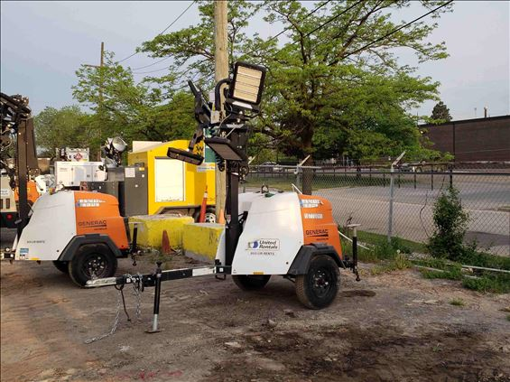 2018 Magnum Pro MLT6SMD Towable Light Tower