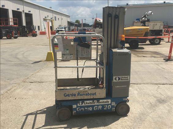 2012 Genie GR-20 Scissor Lift