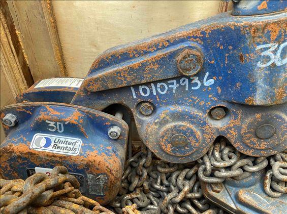 2013 Ingersoll Rand VL2-200-30 Hoist