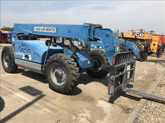 2013 Genie GTH844D(T4I) Rough Terrain Forklift