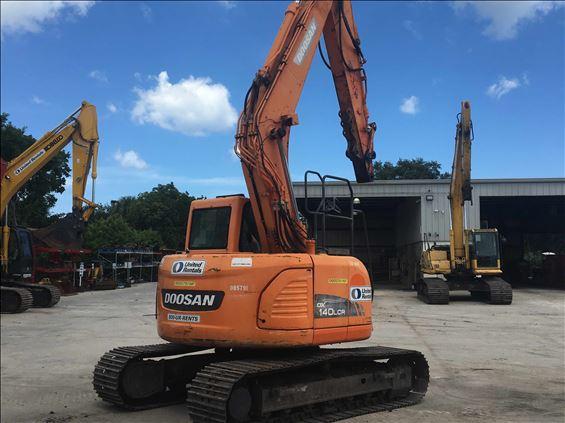 2013 Doosan DX140LCR-3 Excavator