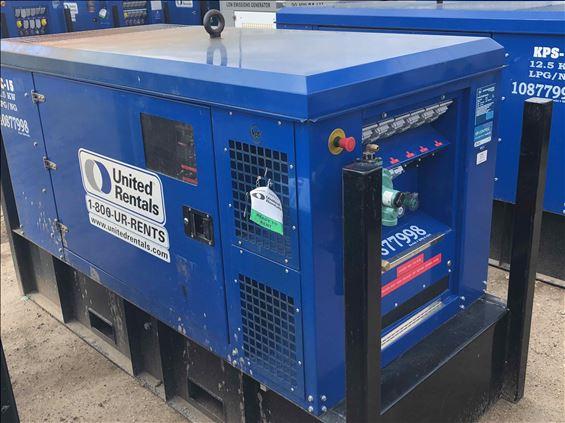 2018 Kilgore Power Solutions 12.5KW LPG/NG Diesel Generator