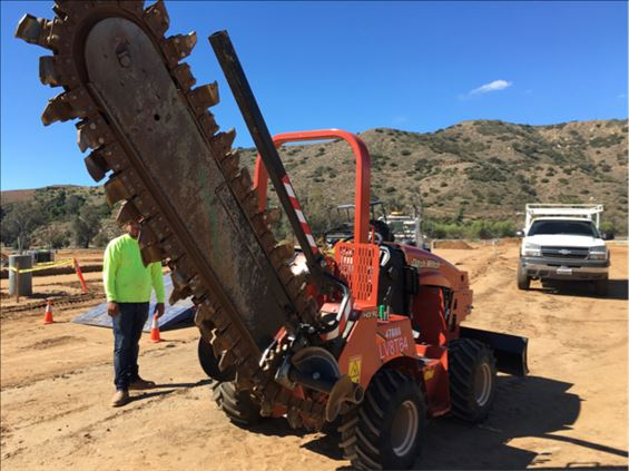 2017 Ditch Witch RT45 Trencher
