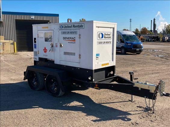 2018 Magnum Pro MMG75CAN6 Diesel Generator