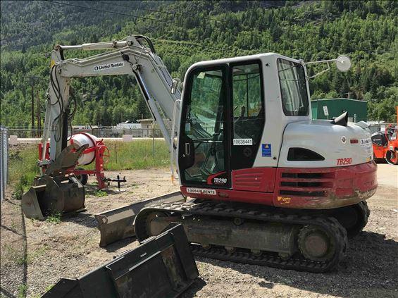 2017 Takeuchi TB290C Mini-Excavator