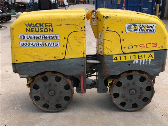 2017 Wacker Neuson RTLX-SC3 Walk-Behind Roller