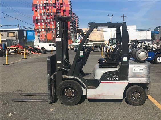 2013 NISSAN PF60 Warehouse Forklift